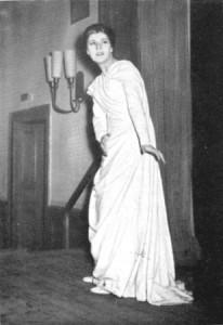Aufführung der Antigone in griechischer Sprache, 1953