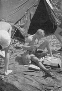 41 Ruderfahrt mit Zeltübernachtung
