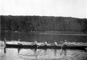 Vierer unterwegs, um 1930