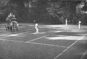 Tennisplätze, 1913