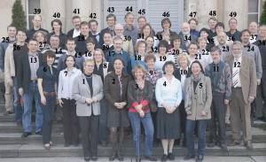 Das Lehrerkollegium des Arndt-Gymnaisums 2008